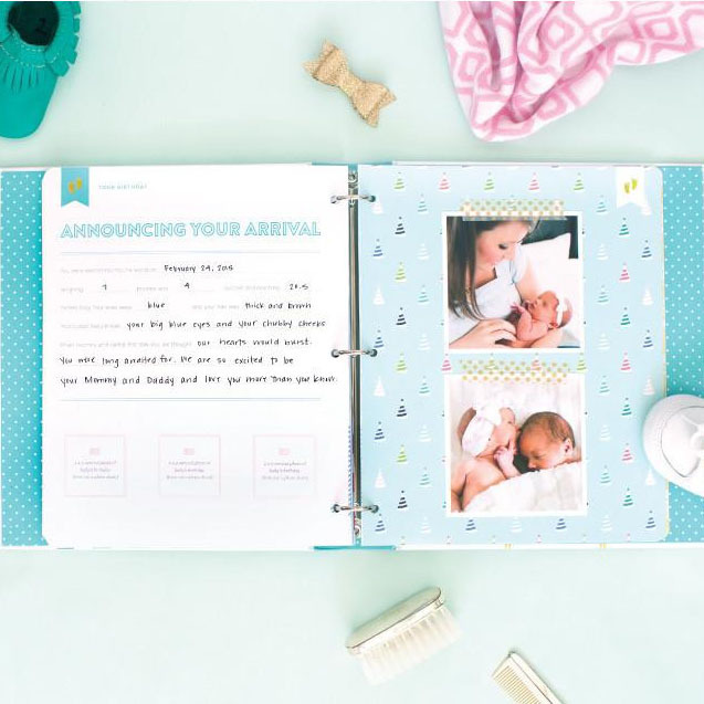 ◇Emily Ley◇赤ちゃんの成長を残せるThe Baby Book