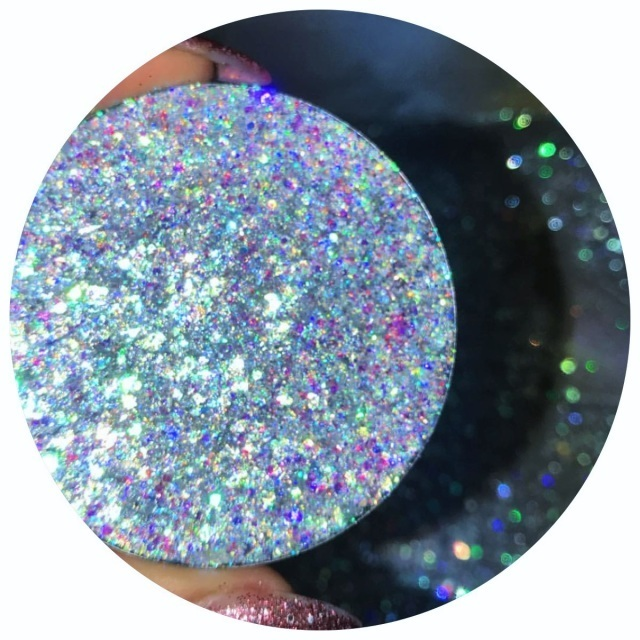 HUGE PRESSED GLITTER: DIAMOND SHELL