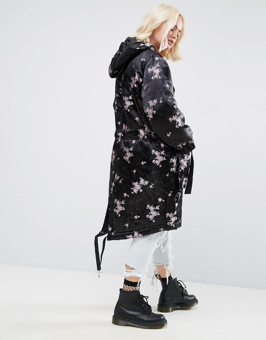 ◎送料込◎ ASOS Parka in Pretty Jacquard