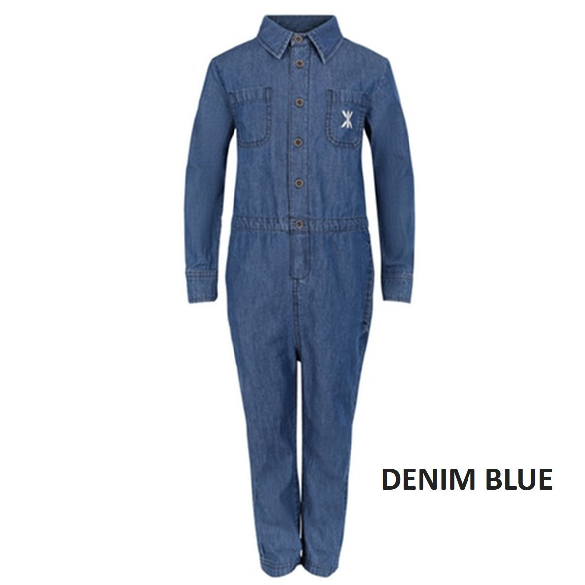 【ONEPIECE】 CHAMBRAY KIDS JUMPSUIT