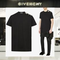【18SS NEW】 GIVENCHY_men /JEWELRY BUTTONSTシャツBK