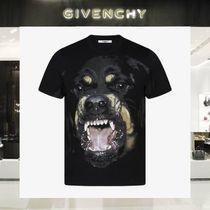 【18SS NEW】 GIVENCHY_men /ROTTWEILERプリントTシャツBK