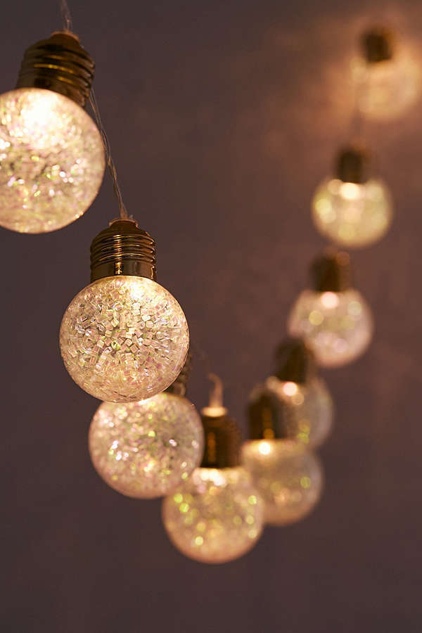 Urban Outfitters☆Glitter Globe String Lights
