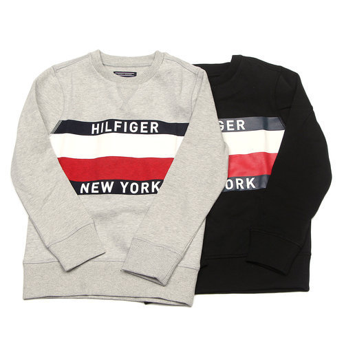 ☆Tommy Hilfiger☆KIDSロゴスウェット 2色 [SIZE:8~16]