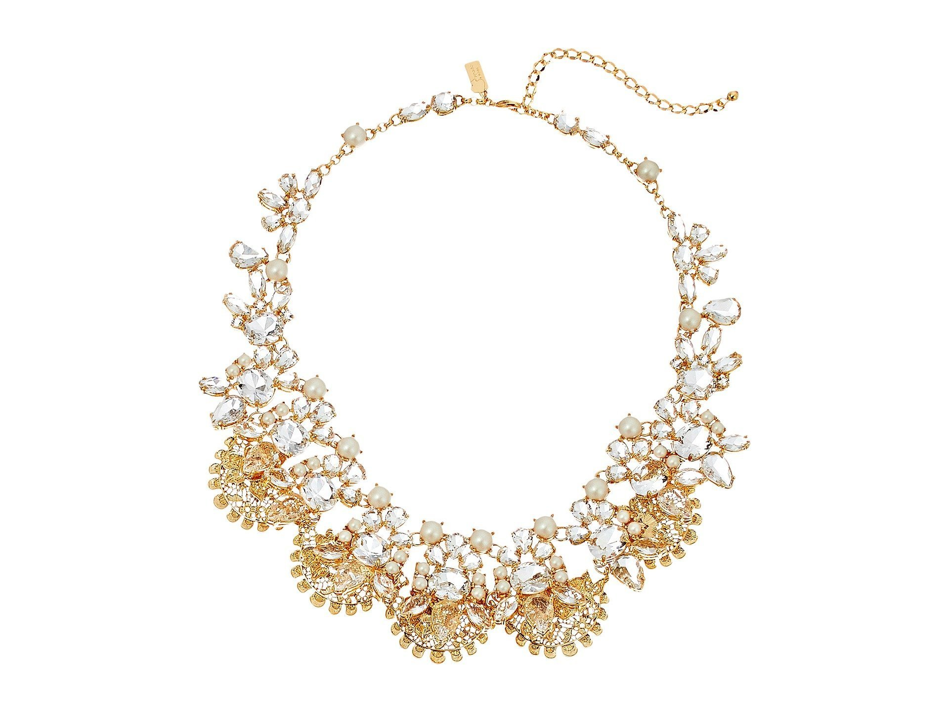 胸元キラリ☆ネックレス#Chantilly Gems Statement Necklace