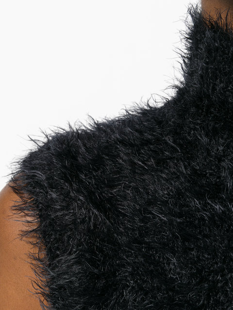 【17AW 新作】マルニ fuzzy knitted tank to トップス☆セーター