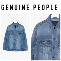 【GENUINE PEOPLE】●日本未入荷●Oversized Denim Jacket