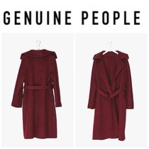 【GENUINE PEOPLE】●日本未入荷●Wrap Wool Coat