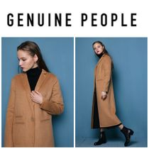 【GENUINE PEOPLE】●日本未入荷●Long Wool Coat