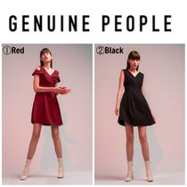 【GENUINE PEOPLE】●日本未入荷●Off-Shoulder Cocktail Dress