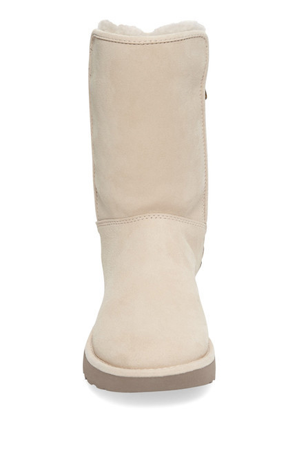 Sale! UGG ☆ Abree II Leather & Genuine Shearling Short Boot