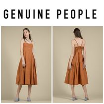 【GENUINE PEOPLE】●日本未入荷●Button Front Midi Dress