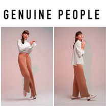 【GENUINE PEOPLE】●日本未入荷●High Waist Knit Pant