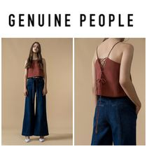 【GENUINE PEOPLE】●日本未入荷●Wide Leg Jeans