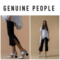 【GENUINE PEOPLE】●日本未入荷●Crop Bow-Tie Chiffon Pants