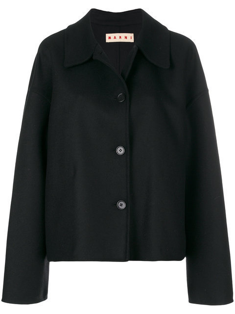 【17AW 新作☆】マルニ cropped buttoned peacoa 大人気☆コート