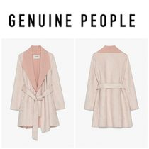 【GENUINE PEOPLE】●日本未入荷●Pink Faux Suede Jacket
