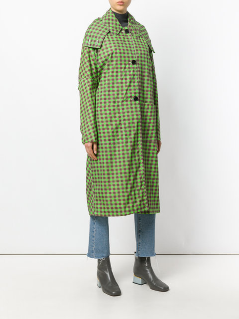 【17AW 新作☆】マルニ trench a carreaux 大人気☆コート