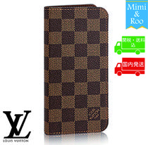 Louis Vuitton☆ダミエ☆ETUI IPHONE 8 PLUS☆iphone7+にも対応