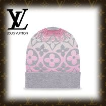 2017-18AW【LOUIS VUITTON】 ボネ・モノグラムサンセット グレー