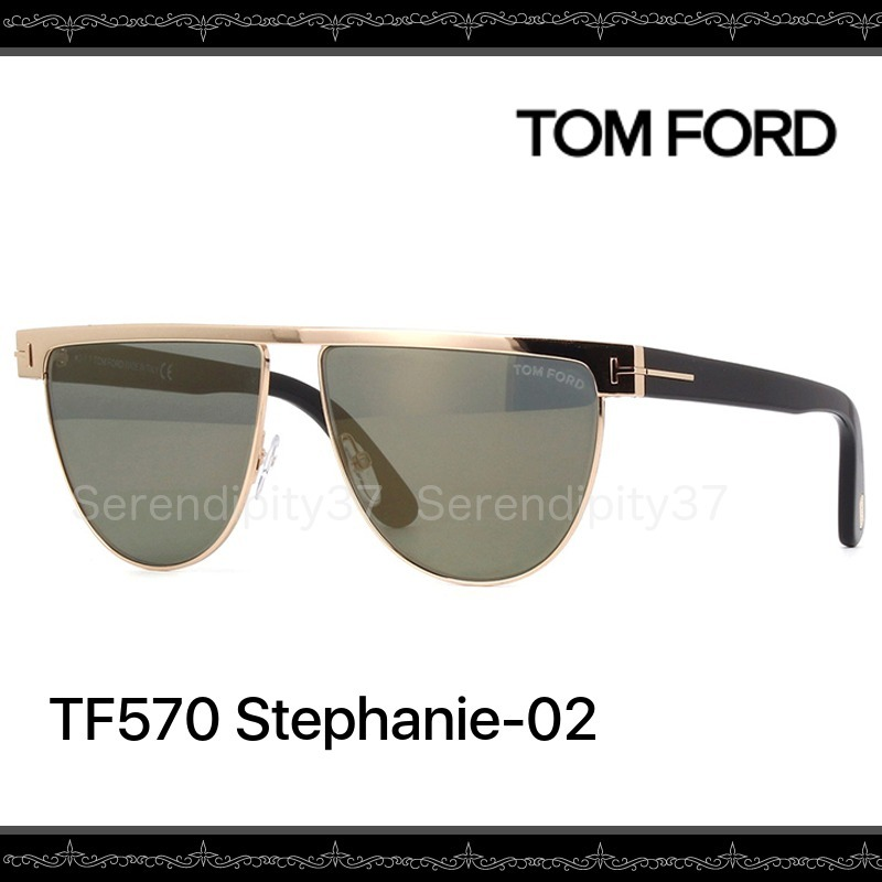 【送・関税込】TOM FORD★TF570 Stephanie-02 /28C