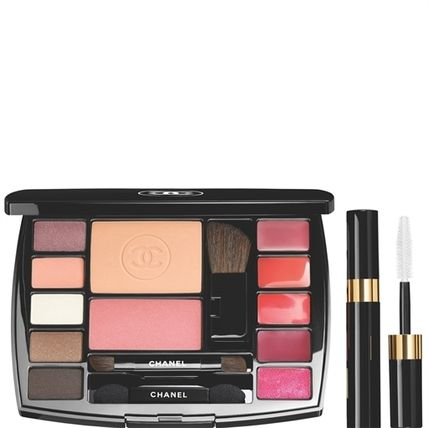 CHANEL TRAVEL MAKEUP PALETTE ESSENTIALS WITH TRAVEL MASCARA