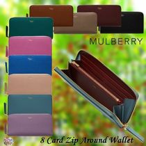 Mulberry☆8 Card Zip Around Wallet 長財布 ラウンドジップ