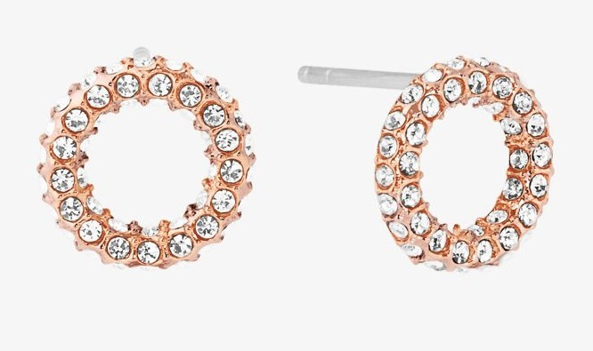 Michael Kors Circle Stud Earrings ③色 関税・送料込