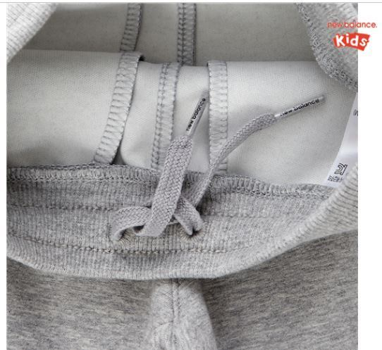 (ニューバランス) Long Zip-Up Set Melange Gray NK9Y73401G