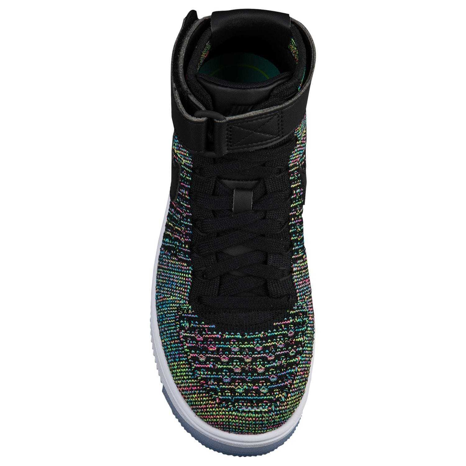 FW17 NIKE AIR FORCE 1 MID FLYKNIT GS 22.5-27.5cm 送料無料