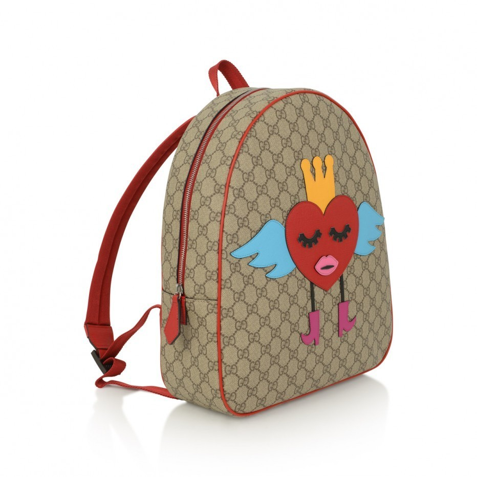 【GUCCI】 ママと兼用★☆GG ハート BACKPACK☆バックパック