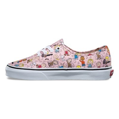 新作!VANS × PEANUTS AUTHENTIC DANCE PARTY/PINK 22~24.5cm