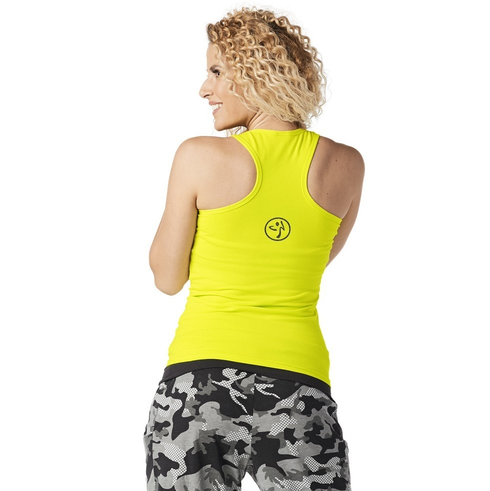 H29.10月☆【ZUMBA】Throwback Est. 2001 Tank Top Z1T01428