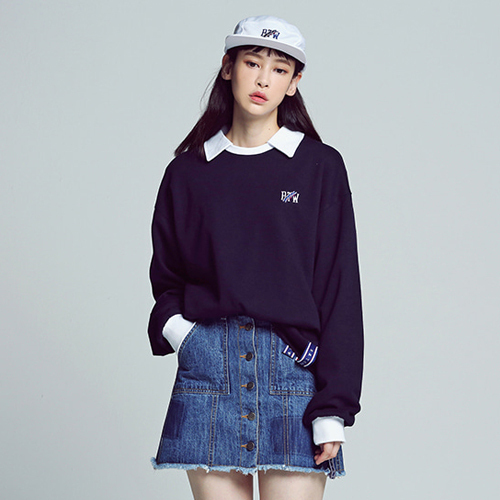 ★ROMANTIC CROWN ★日本未入荷/RTW Collar Sweat Shirt(ny)