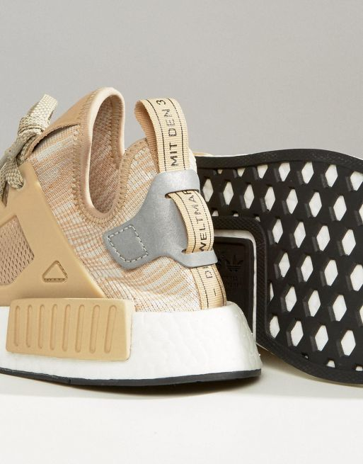 新作 日本未入荷 adidas Originals Beige NMD Xr1 Traine 送関込