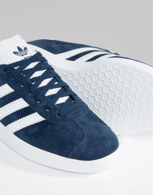 新作 日本未入荷 adidas Originals Navy Suede Gazelle U 送関込
