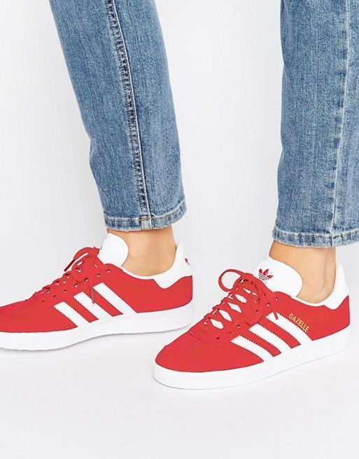 新作 日本未入荷 adidas Originals Red Suede Gazelle Un 送関込