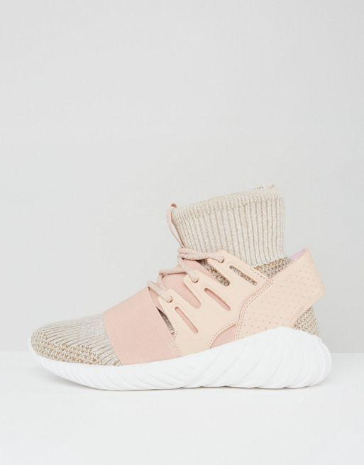 新作 日本未入荷 adidas Originals Pink Tubular Doom Tr 送関込