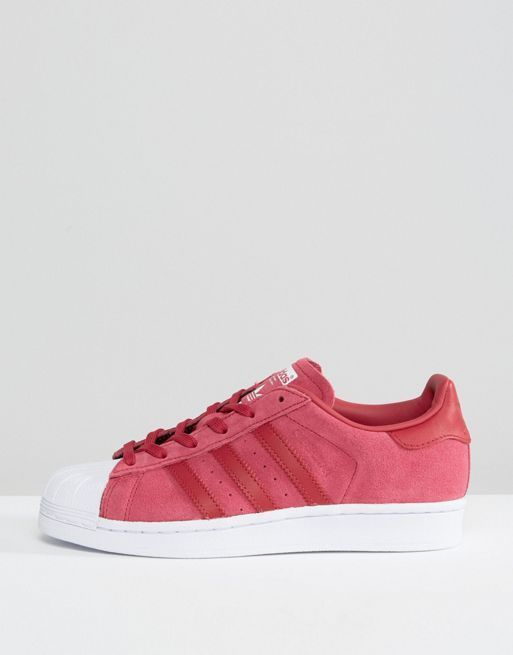 新作 日本未入荷 adidas Originals Pink Suede Superstar 送関込