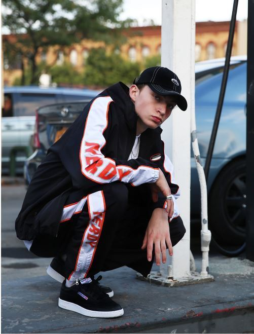 日本未入荷NERDYのLine Windbreak Track Pants 全2色