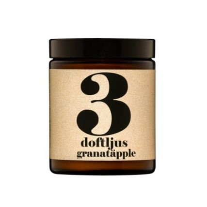 scented candle no. 3 - pomegranate