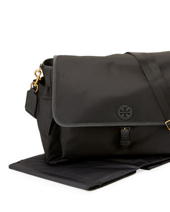 Tory Burch マザーズバッグ 国内入荷☆Tory Burch Scout Nylon Messenger Baby Bag(3)