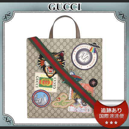 18AW/送料込≪GUCCI≫ Courier GG Supreme トートバッグ