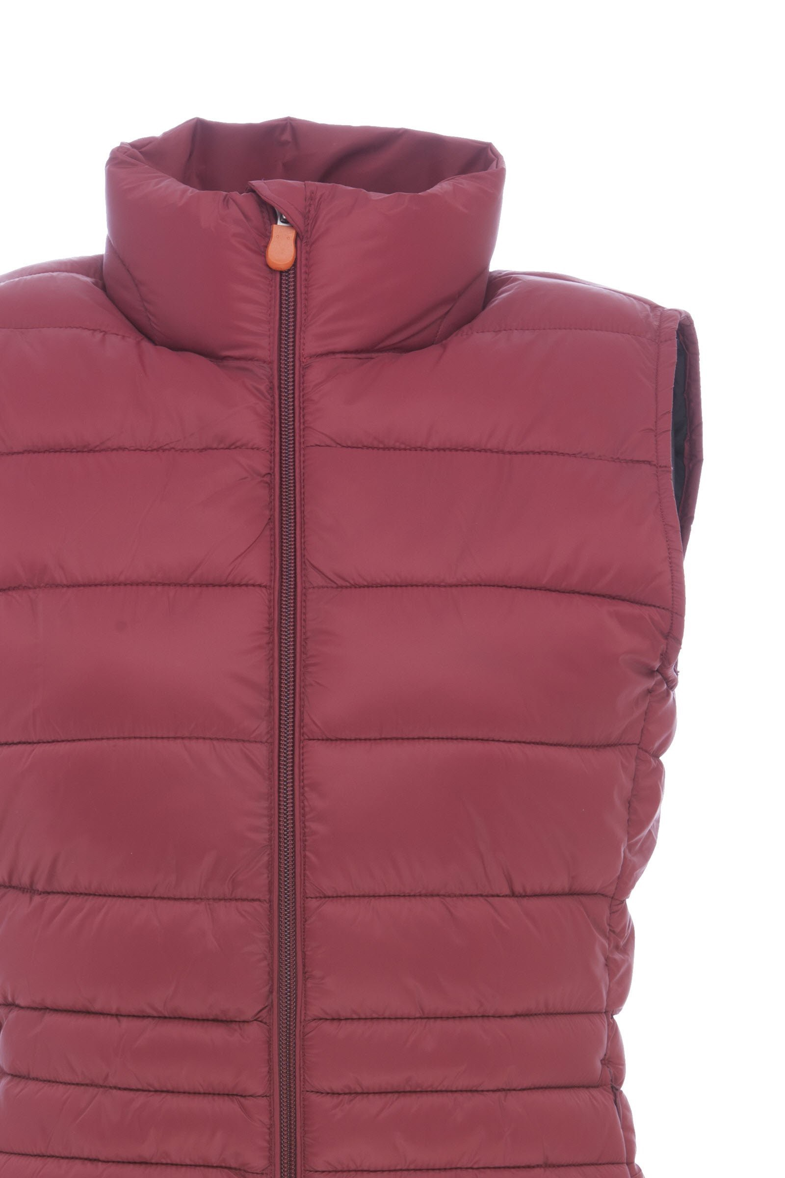 "関税込""Save The Duck""Wo Vest in レディース コート Burgundy"