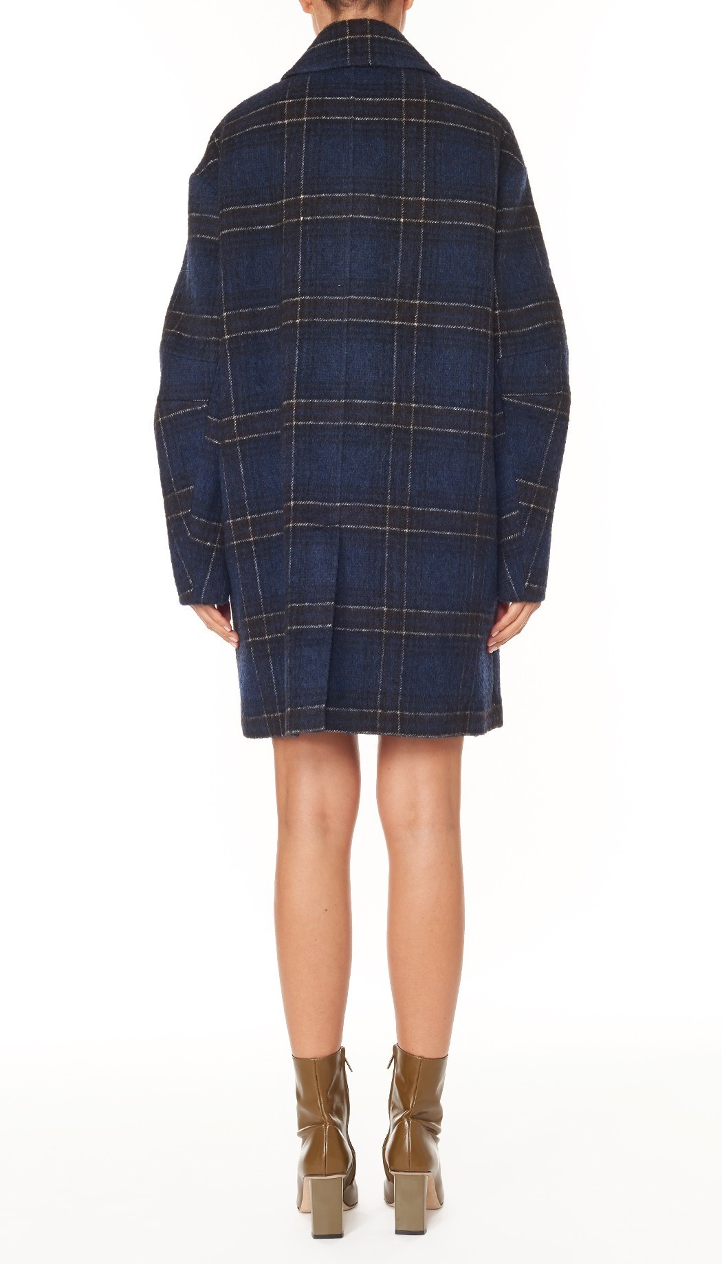 "関税込""Tibi""Dominic Plaid Oversized Coat レディース コート"