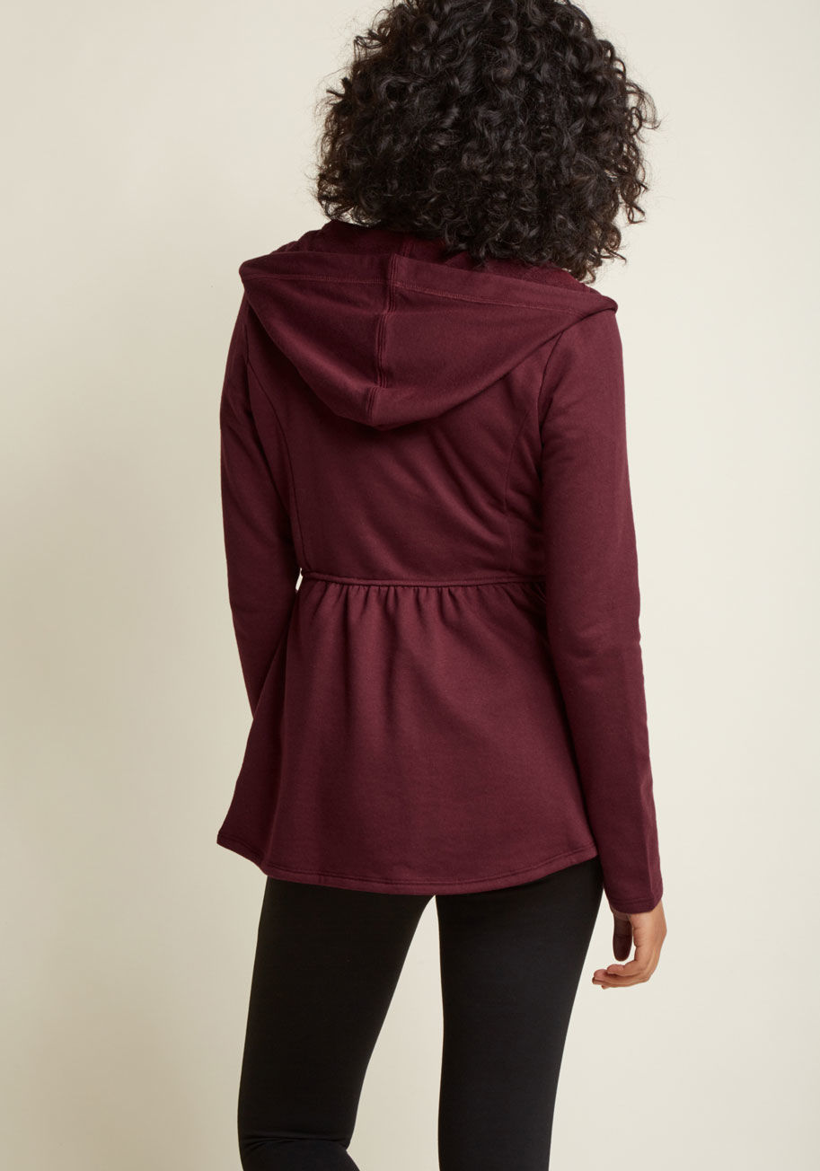 ◎送料込◎ juneau how i feel jacket in burgundy