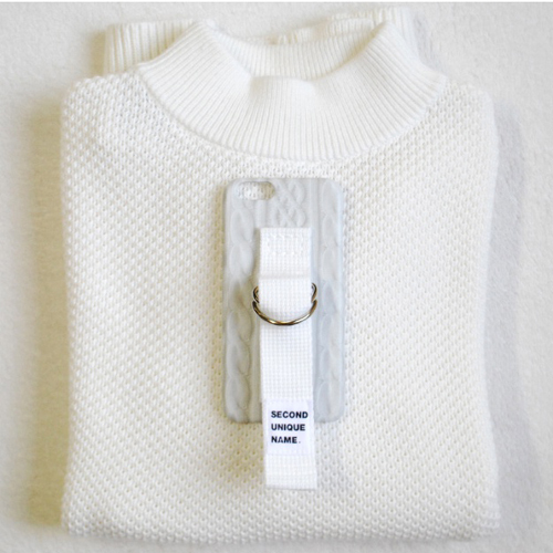[SECOND UNIQUE NAME] SWEATER スマートフォンケース 4色