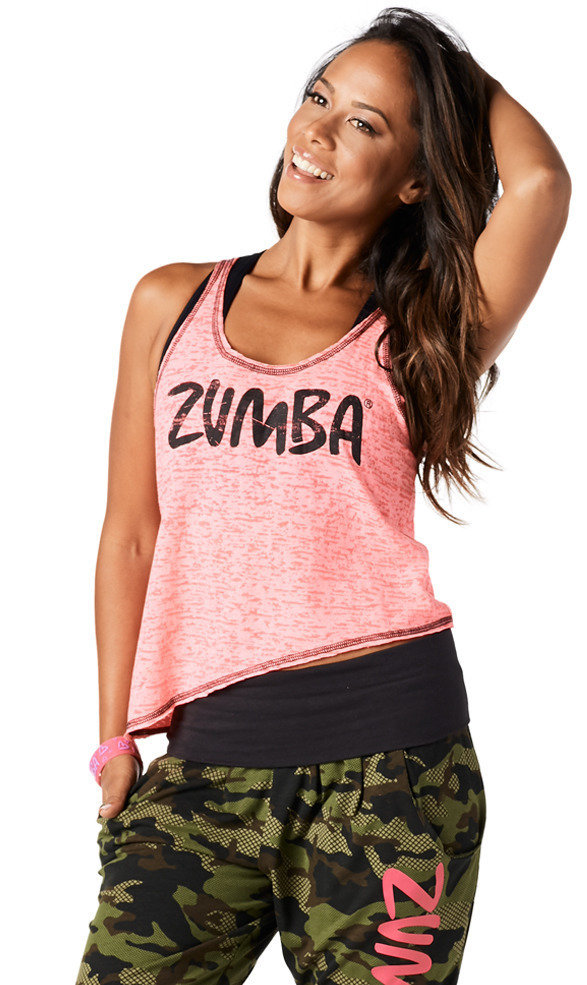 【送料関税込】ZUMBA☆Throwback Summer Lovin' Tank