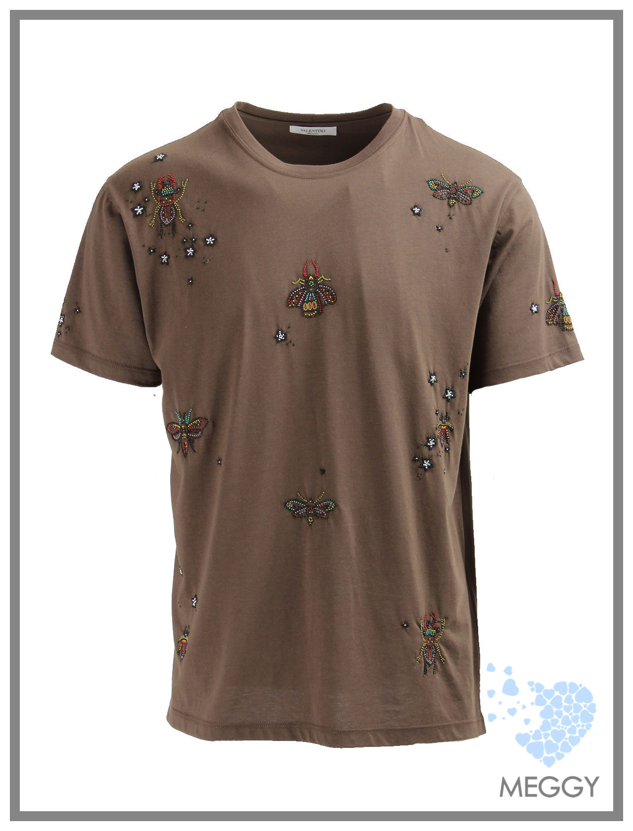 INSECT BEADED T-シャツ