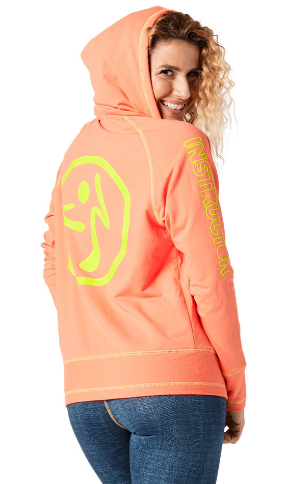 イントラ【ZUMBA】Throwback Zweet Zip Up Instructor Hoodie